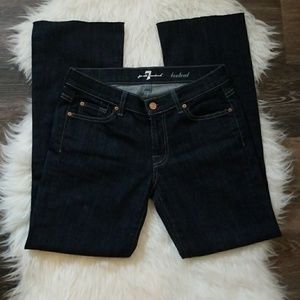 7 For All Mankind Bootcut sz 27